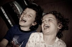 Laughing. It's good for the soul :)