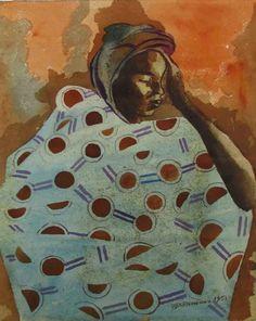 Untitled - Ben Enwonwu (1921-1994)