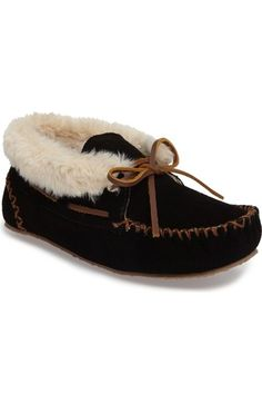 Minnetonka 'Chrissy' Slipper Bootie (Women) available at #Nordstrom