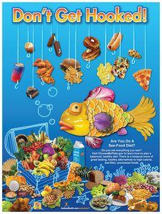 See Food Diet Poster