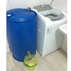 Dica eficiente, barata e fácil de fazer pra economizar nosso líquido mais precioso. Aí você reutiliza a água pra lavar pisos, carros, calçadas, etc.... Que tal? (FACE 13062015 =http://www.universojatoba.com.br/rosana/eu-penso-assim )