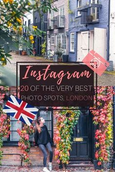 London Instagram Guide: 20 Must-See Instagrammable Photo Spots in the UK capital, England. Iconic cafés, quintessential pubs, historic sites and more!