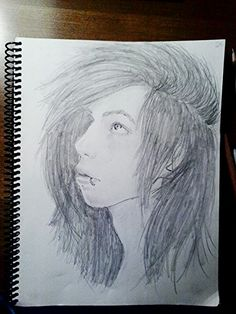 Another drawing of Andy Biersack from Black Veil Brides i did