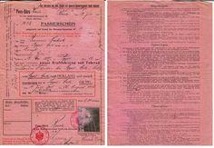 paspoort nederland wo1 - Google zoeken