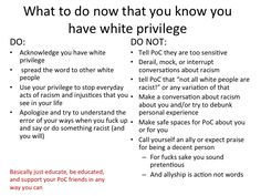 You're Racist Against White People! and some other myths about whiteness debunked - clickthrough for Tumblr powerpoint.