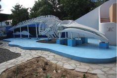 El Museo de la Ballena (whale museum) in La Paz, Baja California Sur, Mexico.