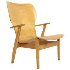 "Ilmari Tapiovaara ""Domas"" Molded Plywood Armchair"