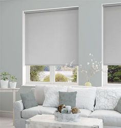Image result for blinds with grey walls