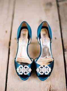 Beautiful heels via Style Me Pretty. #cleopatra #luxewedding #weddingstyle