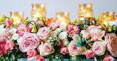 Head table flowers ready #sensationaleventsuk #headtable #wedding2016 #weddingflowers #flowerarrangement #wedstagramhour