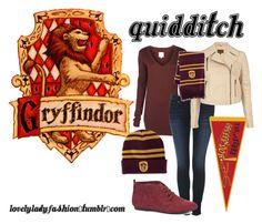 What Astrid would wear to show her gryffindor spirit at quidditch matches Harry Potter Style, Harry Potter Outfits, Hogwarts, Harry Potter Memorabilia, Quidditch Game, Geek Chic Fashion, Fandom Outfits, Movie Outfits, Character Inspired Outfits