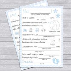 Viesti vauvalle, vaaleansininen Tonne, 1 Year Olds, Birthday Balloons, Wedding Planner, Bullet Journal, Ink, Air Balloon, Wedding Planer, India Ink