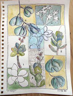from my sketchbook - Jane LaFazio