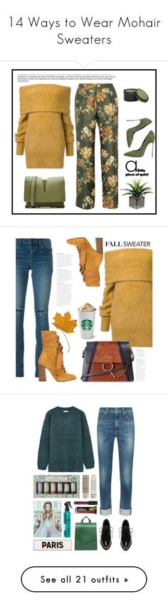 """""""14 Ways to Wear Mohair Sweaters"""" by polyvore-editorial ❤ liked on Polyvore featuring waystowear, mohairsweaters, Jil Sander, F.R.S For Restless Sleepers, Archipelago Botanicals, Casadei, Yves Saint Laurent, Chloé, Fall and tops"""