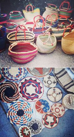 Ghanaian Baskets