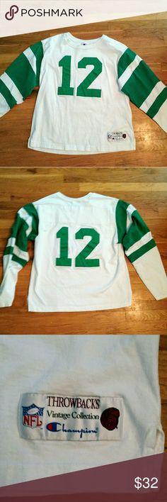 size 40 d2755 ecc12 new york jets 12 joe namath 2014 green hoodie