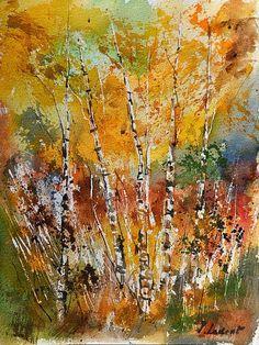 watercolor 119052  pol ledent artist