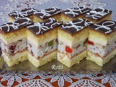Rozi Erdélyi konyhája: Polgármester szelet Cake Cookies, Cupcake Cakes, Just Eat It, Cute Desserts, Hungarian Recipes, Sweet And Salty, Food Inspiration, Sweet Recipes, Cookie Recipes