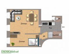 Elegant sanierte Eigentumswohnungen in 1090 Wien bei IMMOfair Next, Floor Plans, Elegant, Condominium, Real Estates, Floor Layout, Projects, Homes, Classy