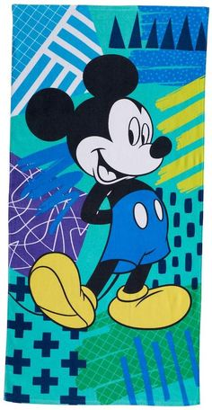 Disney/Jumping Beans Disney's Mickey Mouse Beach Towel by Jumping Beans® Mickey Mouse Background, Mickey Mouse Wallpaper, Disney Phone Wallpaper, Mickey Mouse Art, Mickey Mouse And Friends, Disney Minimalist, Loteria Cards, Hello Kitty Coloring, Wallpaper Iphone Disney