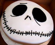 jack skellington cake  www.annacakes.com
