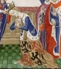 Philippa of Hainault, Queen consort to Edward III of England (1312-1377, ruled 1327-1377).  Married January 24, 1328. Coronation March 4, 1330.  Children: Edward, Prince of Wales,  Black Prince; Isabella married Enguerrand VII of Coucy; Lady Joan, died of Black Death; Lionel of Antwerp, Duke of Clarence; John of Gaunt, Duke of Lancaster; Edmund of Langley, Duke of York Mary of Waltham, married John V of Brittany Margaret, married  Earl of Pembroke; Thomas of Woodstock, Duke of Gloucester