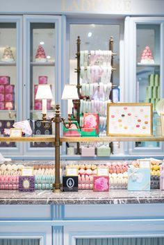 Minty House, pastels, macaroons, Laudree, Paris