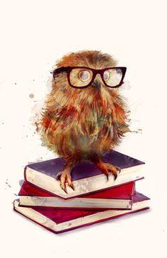 Owl......    Amy Hamilton, Watercolors........