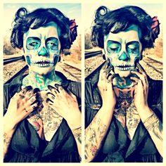 http://www.deviantart.com/art/Candy-skull-504645203