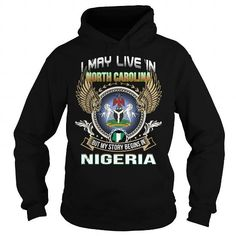 North Carolina Nigeria T Shirts, Hoodie. Shopping Online Now ==► https://www.sunfrog.com/LifeStyle/North-Carolina-Nigeria-Black-Hoodie.html?41382