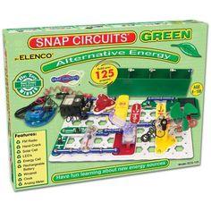 Elenco TELA-04 Snap Circuits Green - Alternative Energy