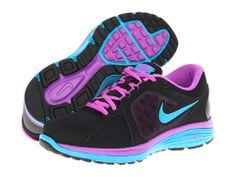 Nike Dual Fusion Run Black/Laser Purple/Neo Turquoise/Neo Turquoise