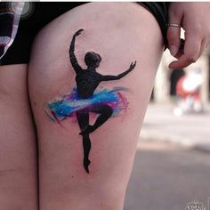 #tatuaje  #bailarina #baile #tatoo