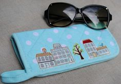 potholder eye glasses case