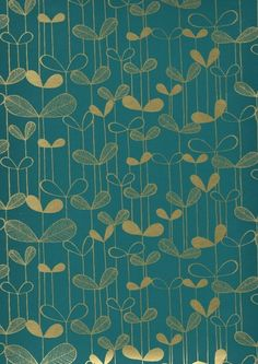 Saplings Turquoise with Gold MISP1012