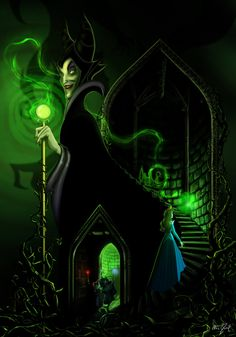 Maleficent is my favorite Disney villain