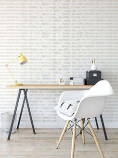 Wallpaper with black brush stroke pattern on a white   Etsy Wallpaper Size, Wallpaper Panels, Bathroom Wallpaper, Vinyl Wallpaper, Wallpaper Samples, Colorful Wallpaper, Peel And Stick Wallpaper, Temporary Wallpaper, Black And White Prints