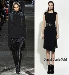 ¿Te animas con un look gótico? El negro y el cuero son las claves más dark.