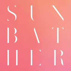 "Deafheaven ""Sunbather"" cover art. design by Nick Steinhardt."