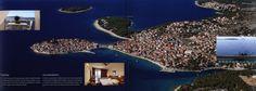https://flic.kr/p/KWDoCJ | Dobro dosli u/ Welcome to Primosten, Grad plaza/ A Town of Beaches; 2015_3, Sibenik-Knin co., Croatia