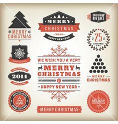Christmas logo's