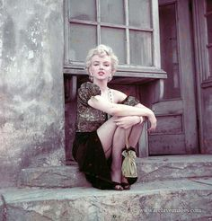 Marilyn in ''The Hooker'' sitting photographed by Milton H. Greene on 15 April 1956.