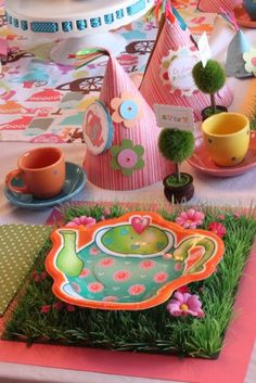 PERFECT Tea Party - LOTS of ideas :)