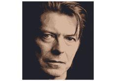 PDF Cross Stitch Pattern David Bowie  Instant by LetsMakeCrafts