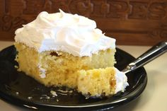 Twinkie Cake.  OMG. So simple...and so good!  The coconut milk is not needed.