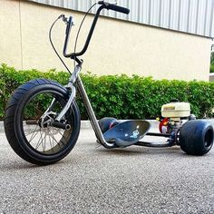 apes on a mini trike Ok I want this for the neighborhood!!!