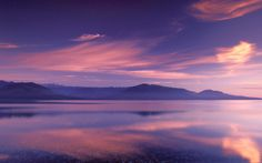 Ciel et Soleil - Royal Reflection on Hood Canal, Washington. Hood Canal Washington, Mood Images, Background Images Wallpapers, Purple Sky, Web Design Services, Marketing Jobs, Beautiful Landscapes, Reflection, Painting
