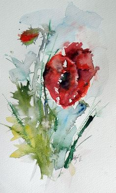 Buy Little poppy II, Watercolour by Kovács Anna Brigitta on Artfinder. Discover thousands of other original paintings, prints, sculptures and photography from independent artists.