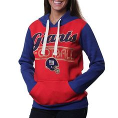 New York Giants Ladies Divisional Pullover Hoodie - Red cee892c78