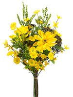Spring Wedding Bouquet of Rudbeckia and Morning Glory in Yellow.jpg
